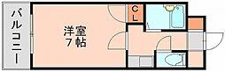 ユートピアマンション住吉[5階]の間取り