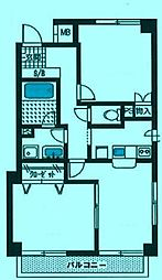 サンプラザ鷺沼[2階]の間取り