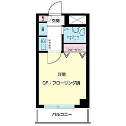 東京都江東区大島5丁目の賃貸マンションの間取り