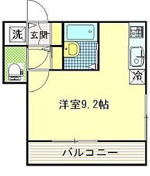 アトランティス津田沼I[2階]の間取り
