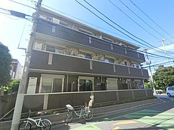 千葉県千葉市稲毛区緑町1丁目の賃貸アパートの外観