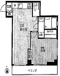 阿部ビル[3階]の間取り
