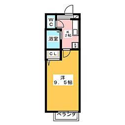 アメニティー泉[2階]の間取り
