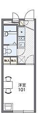 レオパレスカトレア[2階]の間取り