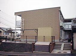 レオパレス栗木コーポ[1階]の外観