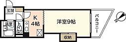 PRES七軒茶屋[4階]の間取り