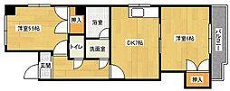 TAKE4[4階]の間取り
