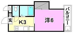 AQUAMARINE UM (アクアマリン ウン)[203 号室号室]の間取り