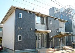 神奈川県茅ヶ崎市みずき2丁目の賃貸アパートの外観