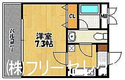 第16川崎ビル[7階]の間取り