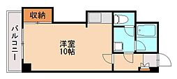 松田ハイツ[2階]の間取り