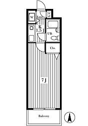 グランドコート八幡山[3階]の間取り