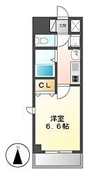 プレサンス大須観音駅前サクシード[7階]の間取り