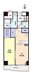 ハミングホーム芝山[6階]の間取り
