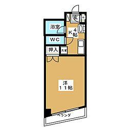 アーバンハイツ葵[2階]の間取り