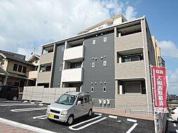 福岡県北九州市八幡西区萩原1丁目の賃貸アパートの外観