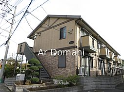 千葉県松戸市新作の賃貸アパートの外観