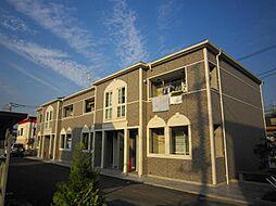 埼玉県川口市西新井宿の賃貸アパートの外観