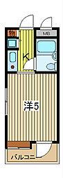 ライオンズマンション川口並木第2[7F号室]の間取り