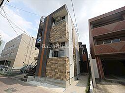 愛知県名古屋市中村区本陣通4丁目の賃貸アパートの外観