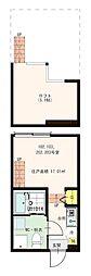 (仮称)松江5丁目コーポ[1階]の間取り