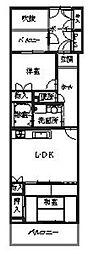 メゾン・ド・イーグレ[3階]の間取り