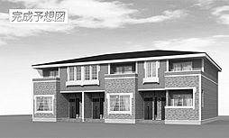 福岡県田川市大字伊田の賃貸アパートの外観