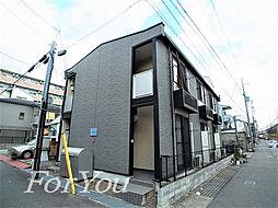 兵庫県神戸市灘区大石北町の賃貸アパートの外観