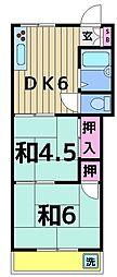 小泉マンション[302号室]の間取り