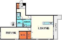 仮称)ディアコートM[2階]の間取り