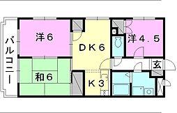 ユーミー和田[302 号室号室]の間取り