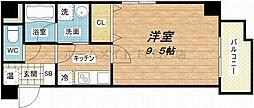 フォーゼ安堂寺[3階]の間取り