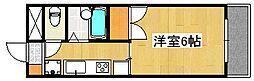 MCマンション[1階]の間取り