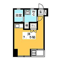 ラフェリアーナ[4階]の間取り