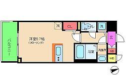 アドバンス西梅田II[3階]の間取り