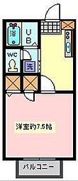 オーブ[2階]の間取り