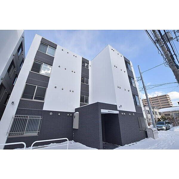 北海道札幌市南区澄川3条1丁目の賃貸マンションの外観