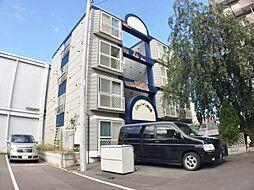 北海道札幌市中央区南六条西15丁目の賃貸マンションの外観