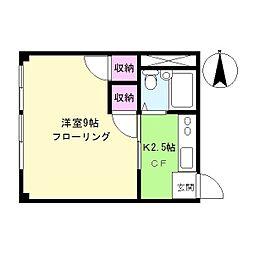佐々木ビル[2階]の間取り