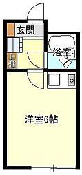ハイツサンマリ−ナ[101号室]の間取り