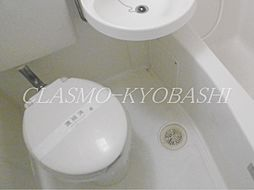 メゾンセシカのユニットバス トイレ部分