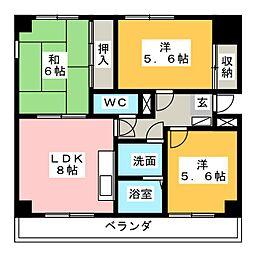 リエス沼津新宿町[10階]の間取り