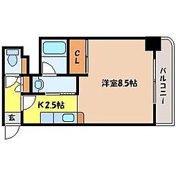 北海道札幌市北区北十条西2丁目の賃貸マンションの間取り