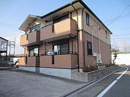 愛知県名古屋市中川区助光1の賃貸アパートの外観