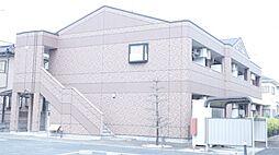 埼玉県行田市大字長野の賃貸アパートの外観
