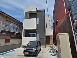 埼玉県越谷市越ヶ谷本町6丁目の賃貸アパートの外観