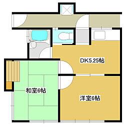 マルソノハウス1[5号室]の間取り