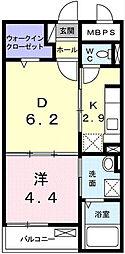 ニューファーム[1階]の間取り