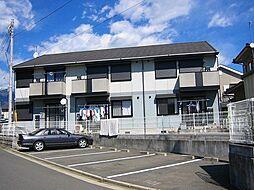 神奈川県秦野市尾尻の賃貸アパートの外観