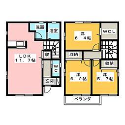[一戸建] 静岡県静岡市清水区中之郷2丁目 の賃貸【/】の間取り